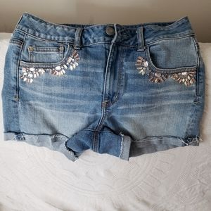 American eagle outfitters denim shorts stretch 10